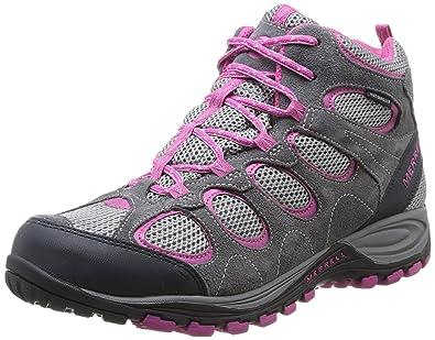 0711a477816 Merrell Hilltop Ventilator Mid Waterproof, Women's Trekking and Hiking Boots