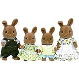 Sylvanian Families Dappledawn Rabbit Family