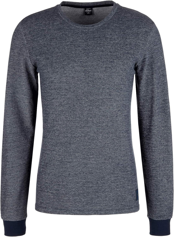s.Oliver T-Shirt /À Manches Longues Homme