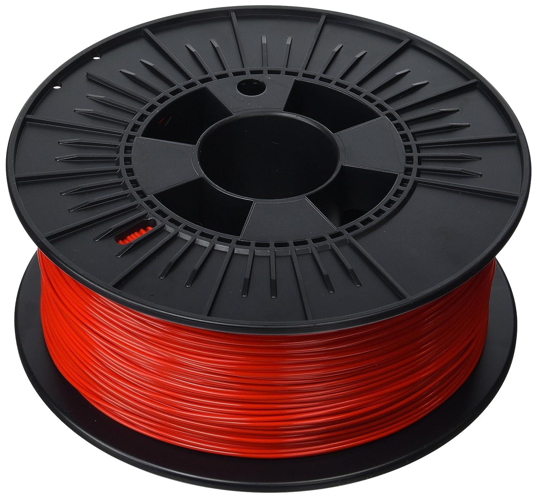 3D Prima PrimaValue PLA Filament, 1.75 mm, 1 kg Spool, Black PVPLA175BK