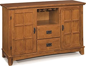 Arts & Crafts Cottage Oak Buffet by Home Styles