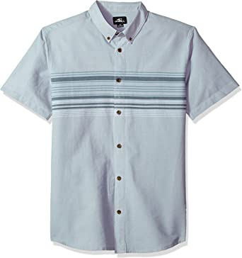 ONeill Mens Casual Standard Fit Short Sleeve Woven Button Down Shirt: Amazon.es: Ropa y accesorios