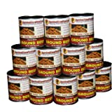 Survival Cave Food Canned Meat 12pk