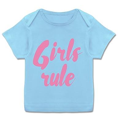 Girls Sprüche Und Für Jungen Rule Baby Kurzarm Shirt KJclF13T