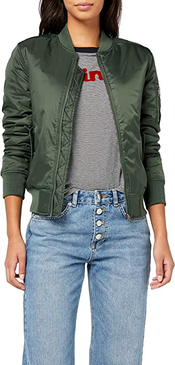 Urban Classics Ladies Basic Bomber Jacket Chaqueta para Mujer