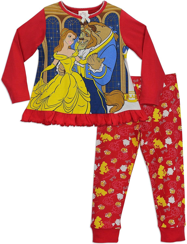 Disney Princess Girls Beauty and The Beast Pyjamas