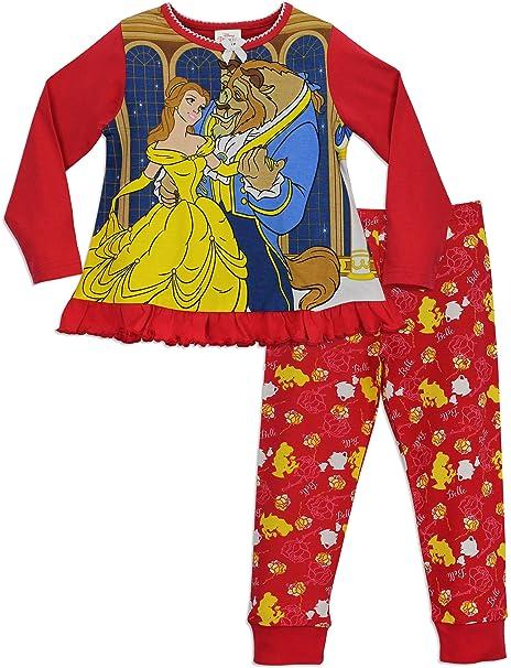 Princesas Disney - Pijama para niñas - Disney La bella y la bestia - 18 -