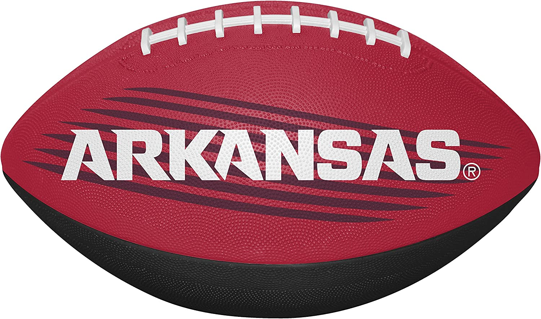 One Size NCAA Arkansas Razorbacks Unisex 07903069111NCAA Downfield Youth Football Red All Team Options