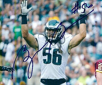 Autographed Bryan Braman 8x10 Philadelphia Eagles Photo at Amazon s ... e3b4edca682b