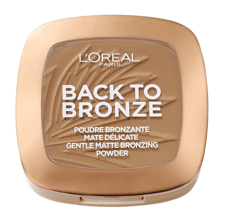 L'Oréal Paris Terra Make Up Abbronzante Viso in Polvere, Finish Matte, Back To Bronze, Texture Leggera, 02 Sunkiss L' Oréal Paris 3600523560837