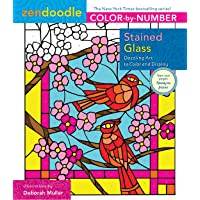 Image for Zendoodle Color-by-Number: Stained Glass: Dazzling Art to Color and Display