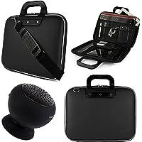 SumacLife Cady Messenger Bag para tablet Lenovo Yoga Tab 3Pro & Tab 3de 10.1pulgadas con altavoz bluetooth (Negro)