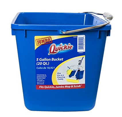 20 gallon bucket. Quickie 20040-4 5 Gallon Bucket \u0026 Cleaning Caddy 20 \