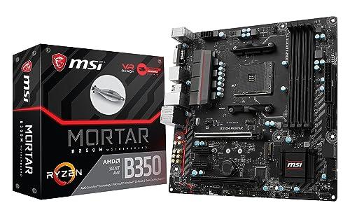 MSI B350M Mortar  : une carte mère pour gamer économique
