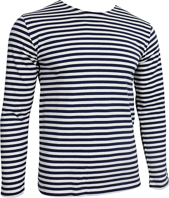 Telnyashka Marine Men/'s Sailor T-shirt 100/% cotton Russian Navy