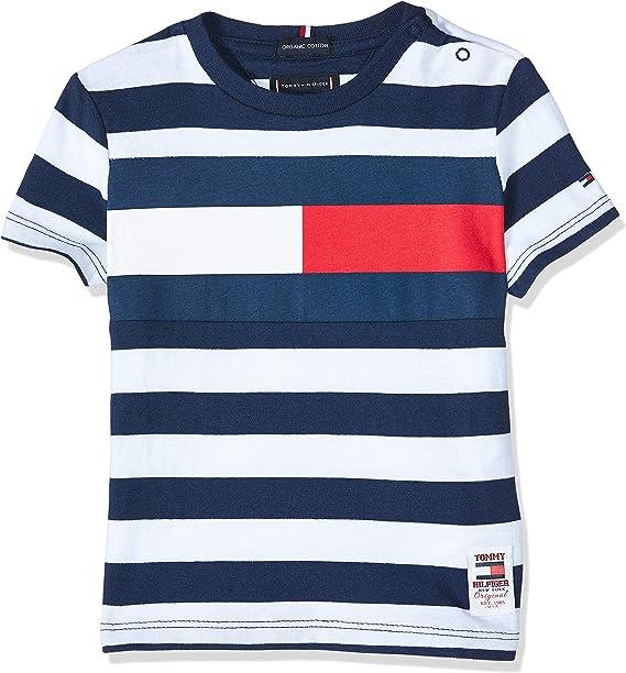 Tommy Hilfiger KB0KB05498 Camiseta Niños: Amazon.es: Ropa y accesorios