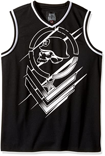 f10648a5d2e091 Metal Mulisha Mens Direct Jersey Tank Top Cami Shirt - Black -   Amazon.co.uk  Clothing