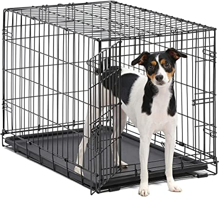 MidWest Homes for Pets Dog Crate - Best For Durability