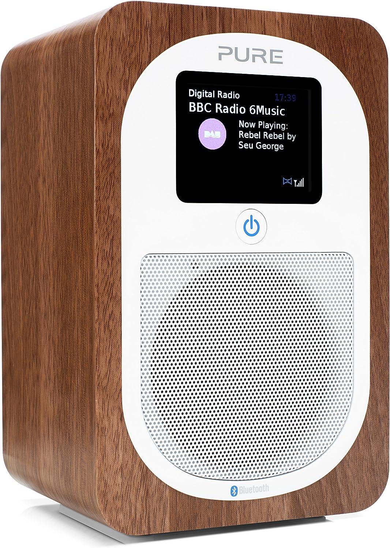 Pure Evoke H3 Bluetooth Digitalradio Dab Dab Ukw Bluetooth Sleep Timer Weckfunktion Countdown Timer 30 H Akkulaufzeit Streaming 40 Senderspeicherplätze Aux Walnuss Heimkino Tv Video