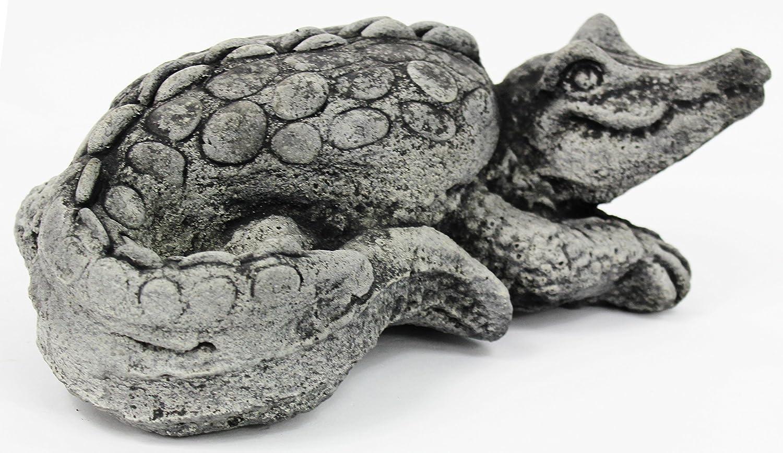 Crocodile Home and Garden Statues Alligator Cement Statue