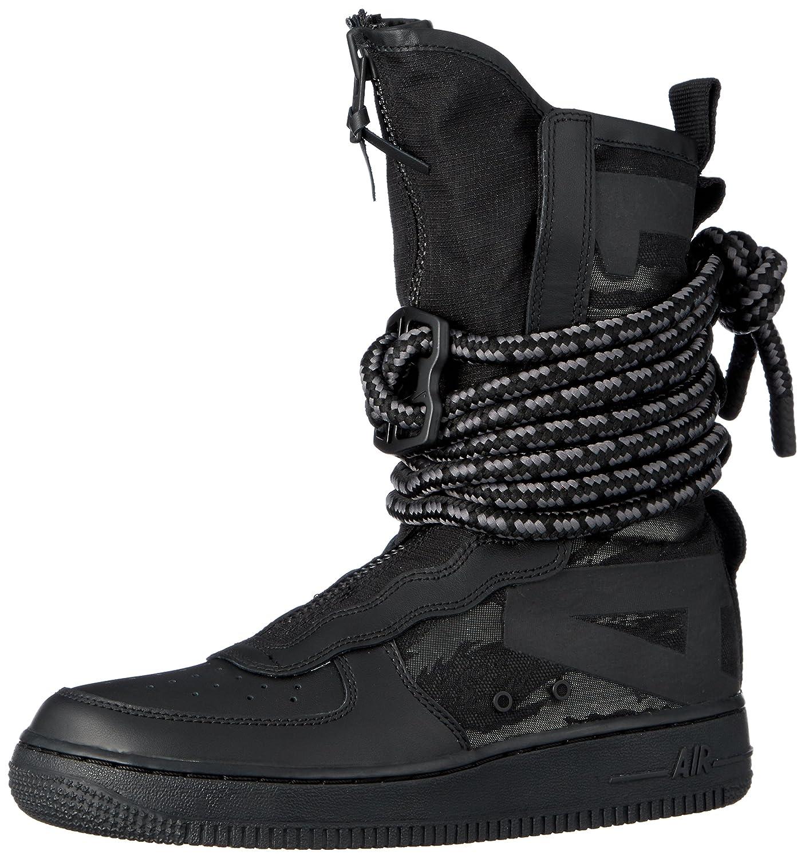 Nike SF Air Force 1 Hi, Zapatillas de Gimnasia para Hombre 43 EU|Negro (Black/Dark Grey/Black 002)