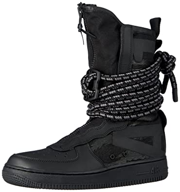 new concept 26b7b 95ae9 Nike Men s Sf Air Force 1 Hi Gymnastics Shoes Dark Grey Black 002, 6.5