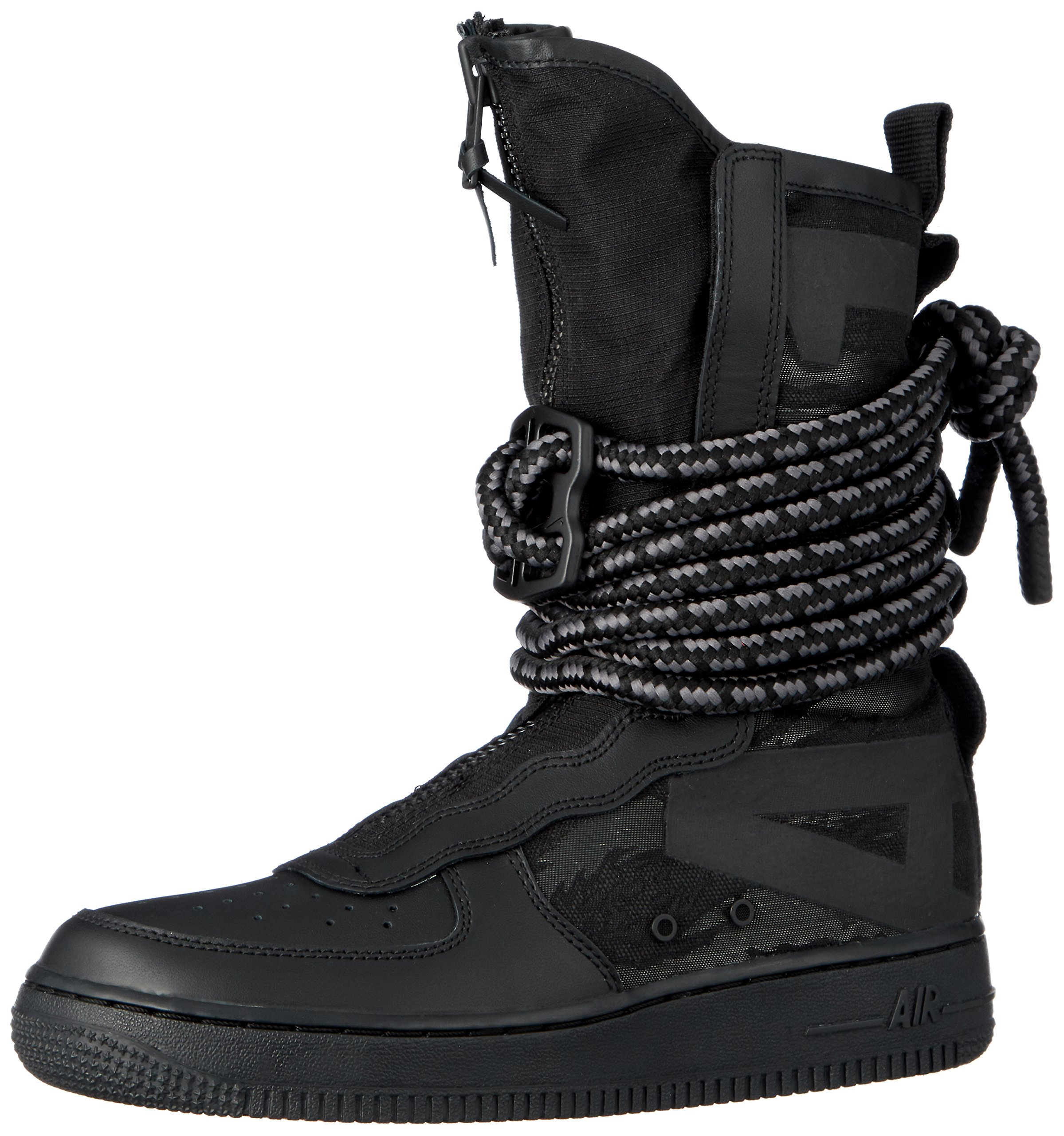 358b045fc791 Galleon - Nike SF Air Force 1 High Men s Shoes Black Grey Aa1128-002 (9.5  D(M) US)
