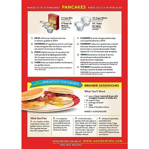 Aunt Jemima Pancake Mix Recipes Biscuits Dandk Organizer