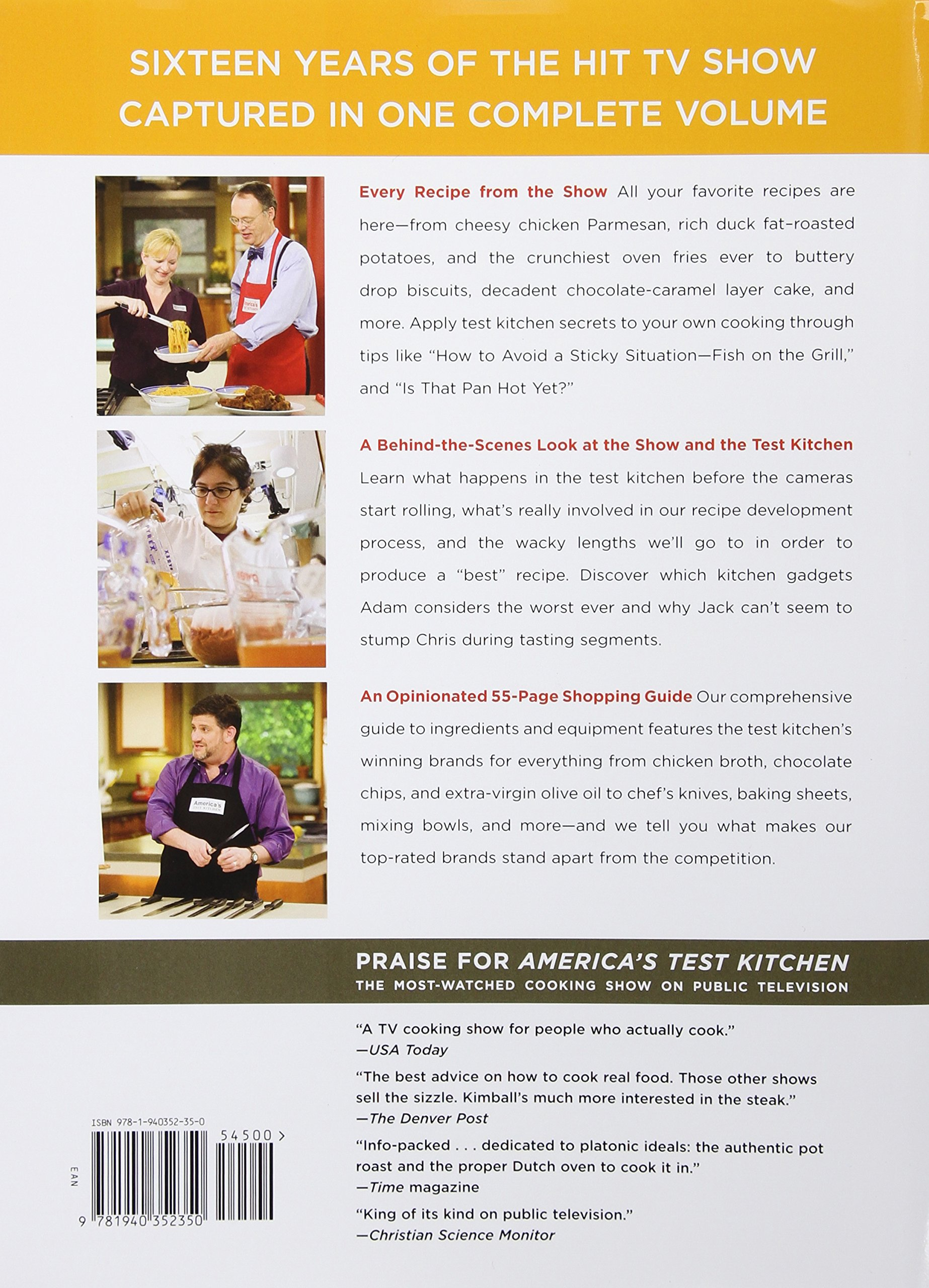 The plete America s Test Kitchen TV Show Cookbook 2001 2016