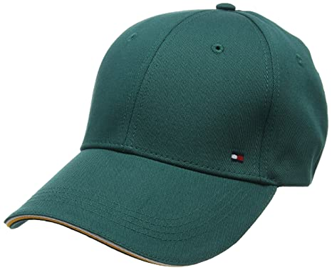 Tommy Hilfiger Corporate Cap Gorra de béisbol, Verde (Forest Biome ...