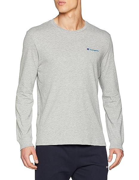 Champion Long Sleeve T-Shirt, Camiseta para Hombre: Amazon.es: Ropa y accesorios
