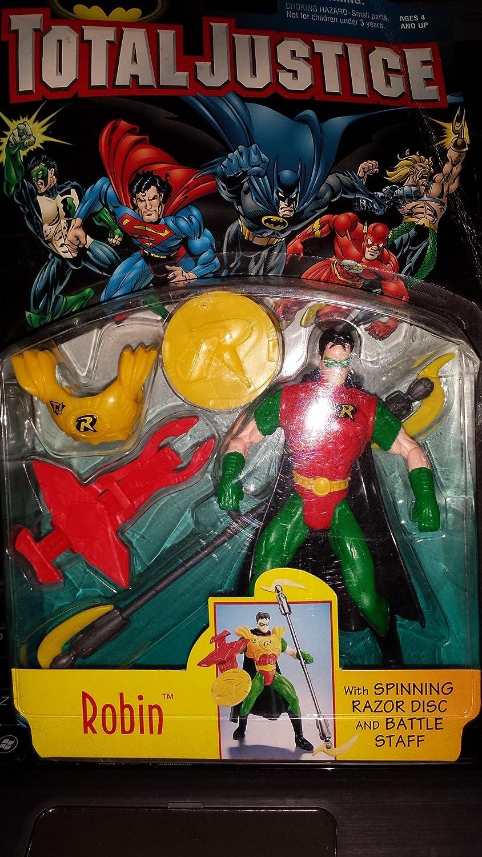 Amazon.com: DC Total Liga de la Justicia Batman: Robin ...