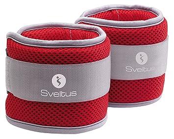 Sveltus Pesas Ajustables para el Agua Aqua Band, 2X 1 kg: Amazon.es: Deportes y aire libre