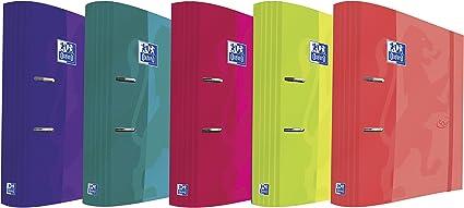 Oxford Filing Touch - Caja de 10 archivadores palanca con lomo ergonómico: Amazon.es: Oficina y papelería