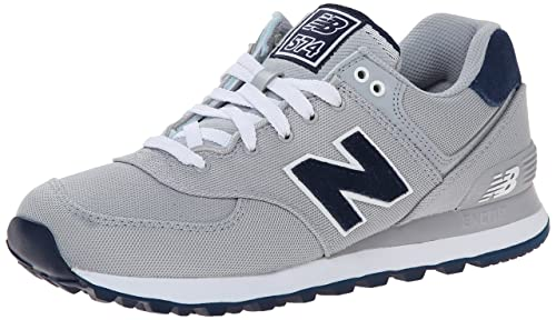 New Balance Mens ML574 Pique Polo Pack Classic Running Shoe, Grey ...