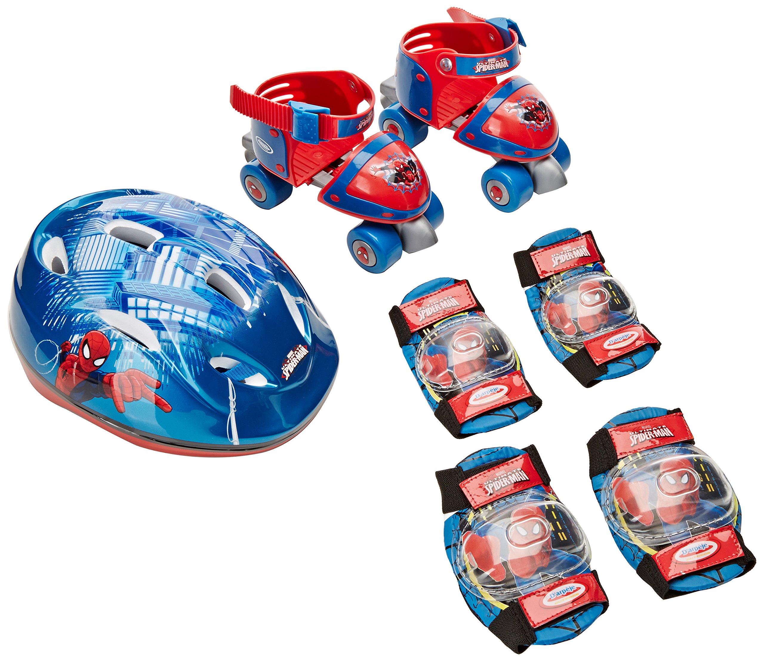 D'Arpèje - The Amazing Spiderman - OSPI002 - Vélo et Véhicule pour Enfant - Sac avec Patins + Casque + 2 Protections product image