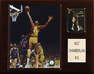 product image for NBA Wilt Chamberlain Los Angeles Lakers Player Plaque
