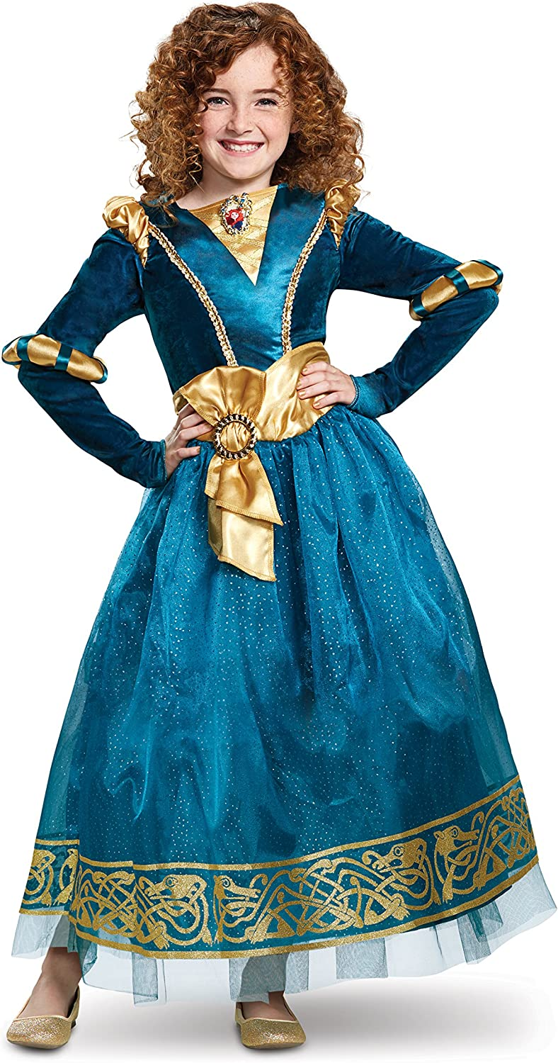 Disguise Brave Deluxe Merida Costume for Toddlers