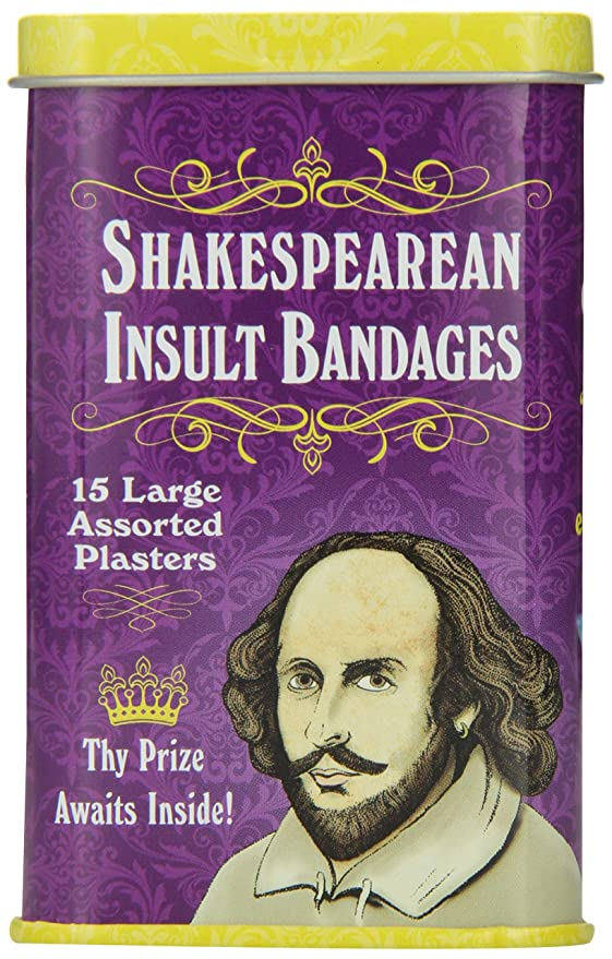 Accoutrements Shakespearean Insult Bandages