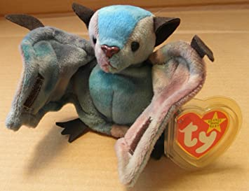 4e89cbc2a08 Image Unavailable. Image not available for. Color  TY Beanie Babies Batty  the Bat Plush Toy ...