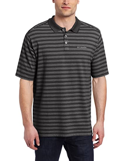 5fab9d62f0c Columbia Men s Elm Creek Polo Stripe at Amazon Men s Clothing store ...