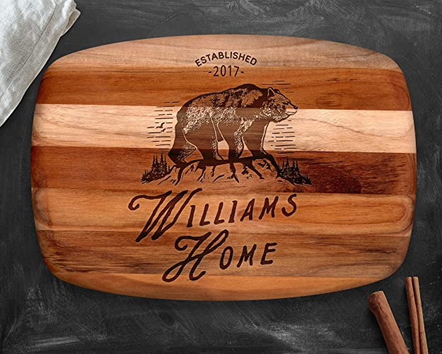 wood cutting board teak wood gifts for men personalized gift gifts for