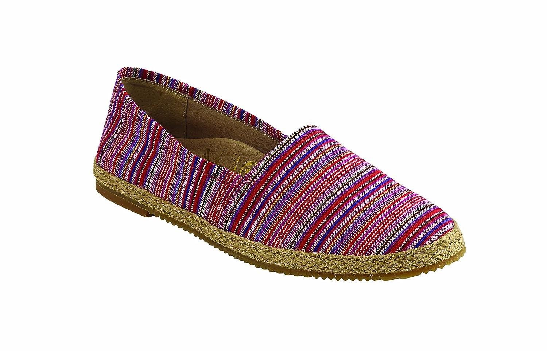 Aetrex Kylie Shoe B074Q28VCT 37|Pink Stripe