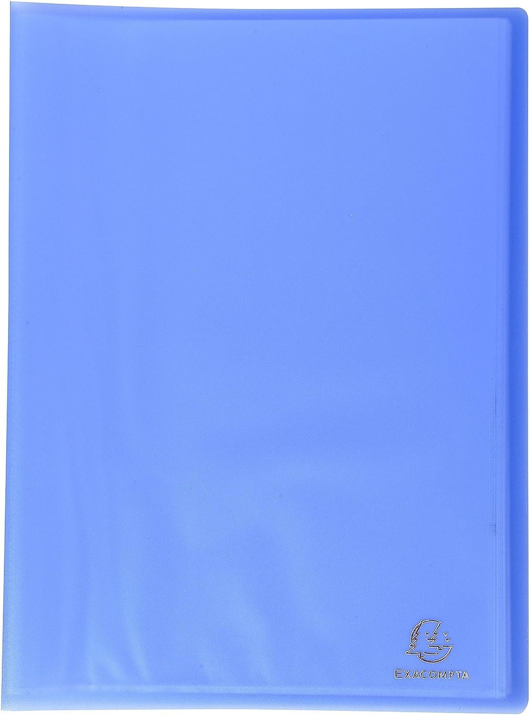 Exacompta 85368E Porte Documents Chromaline Translucide 30 Pochettes 60 Vues Turquoise