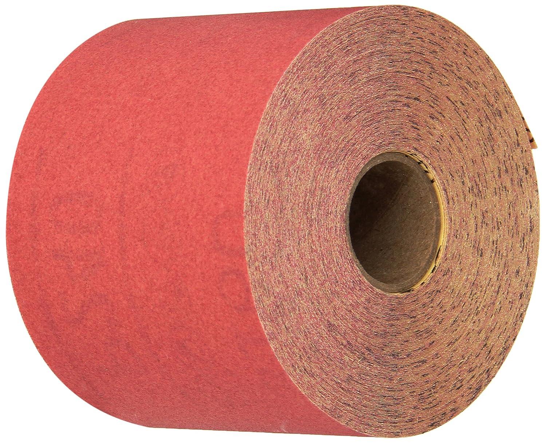3M 01683 Stikit Red 2-3/4' x 25 Yard P240 Grit Abrasive Sheet Roll
