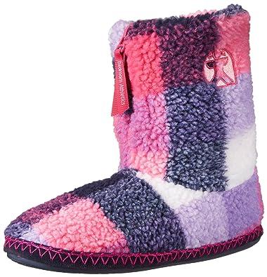 Bedroom Athletics Women's Macgraw Boot, Navy/Pink, Large/9-10 M