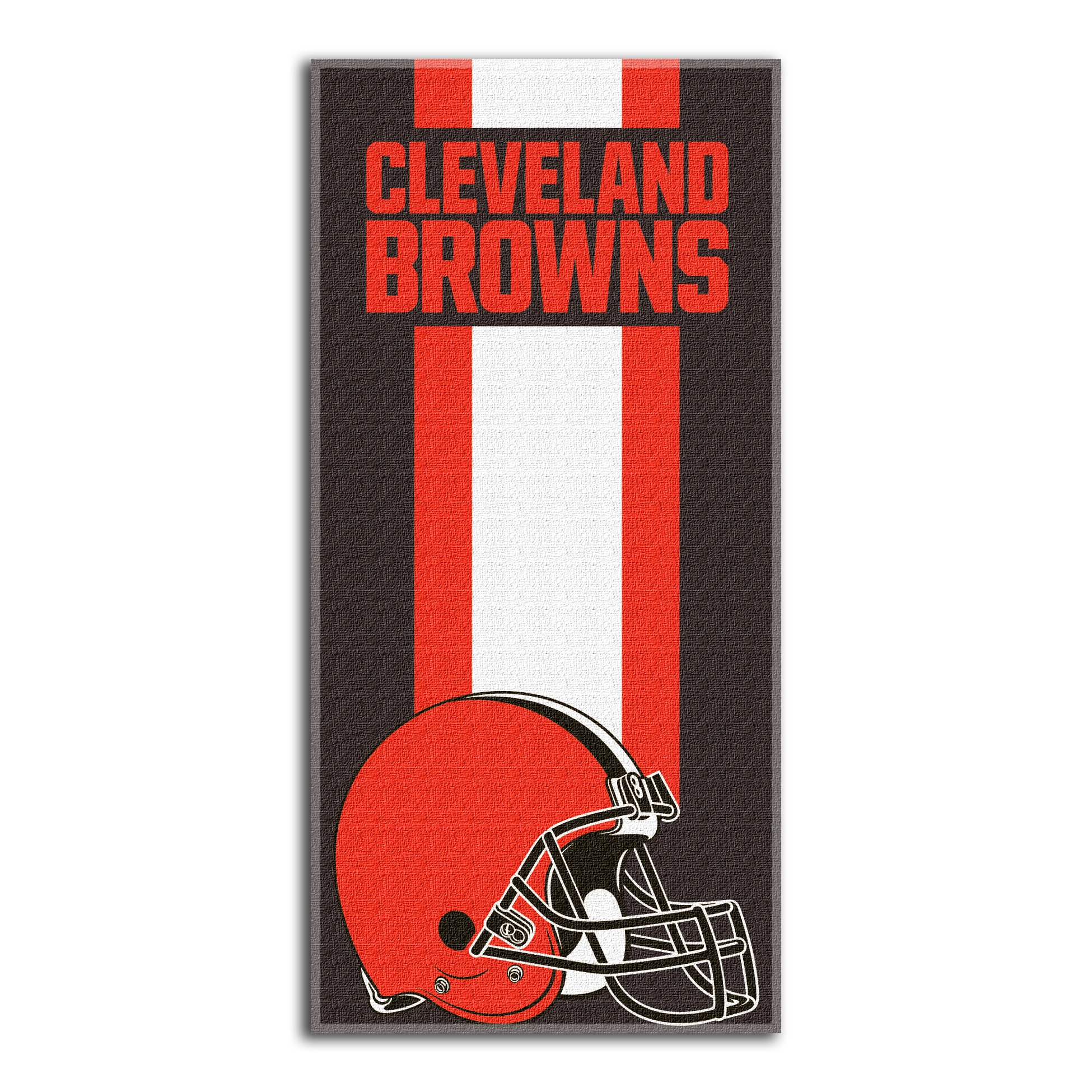 The Northwest Company NFL Cleveland Browns Zone Read Beach Towel, Brown, 30'' x 60''
