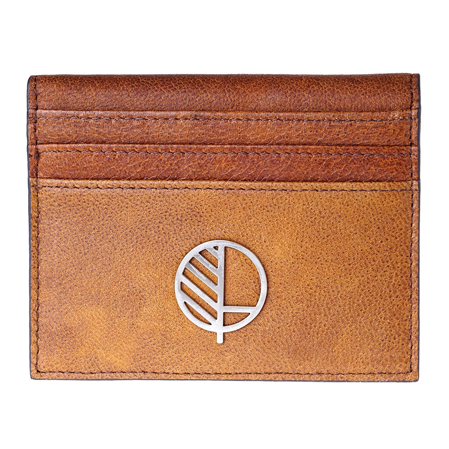 Sensuous Mens Premium Real Leather Compact Wallet and Large Credit Card Holder with ID Window in Stunning Genuine British Leather TheActive from Drew Lennox in Buttery Soft Verglas Black.