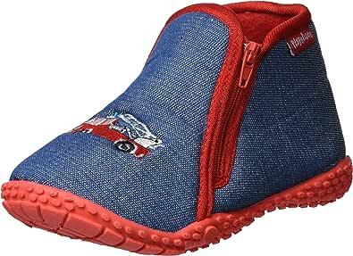 Playshoes Zapatillas Camión de Bomberos, Pantuflas Unisex niños