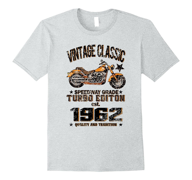 Vintage Classic Turbo EST. 1962 T-Shirt 55th Birthday Gift-FL